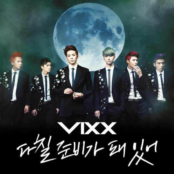 Mini album I'm Ready To Get Hurt by VIXX