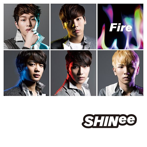 Single Fire by SHINee