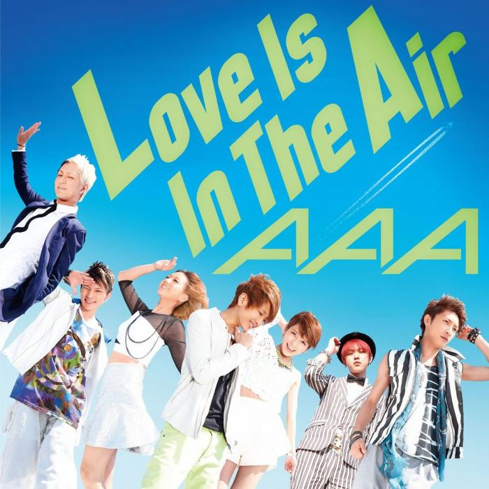 Single Love is in the air by AAA