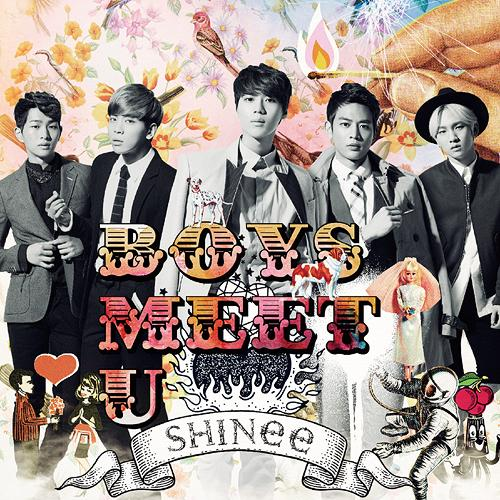 Album Boys Meet U by SHINee