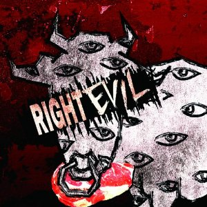 RIGHT EVIL by Codomo Dragon