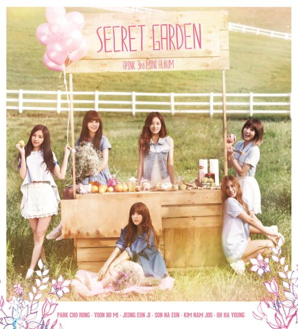 Mini album Secret Garden by APink