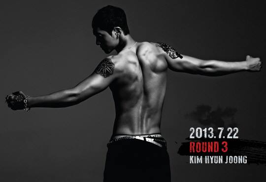Mini album ROUND 3 by Kim Hyun Joong