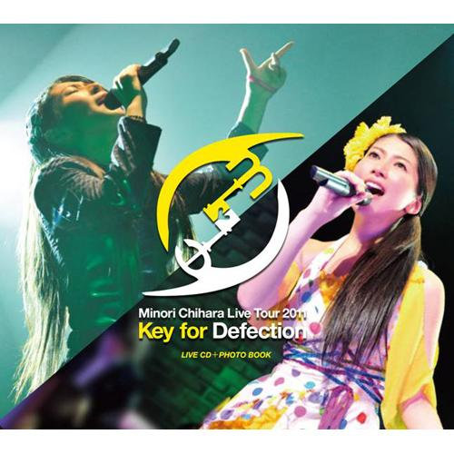 Album Key for Defection LIVE CD by Chihara Minori