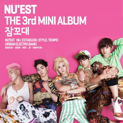 Mini album Sleep Talking by NU'EST