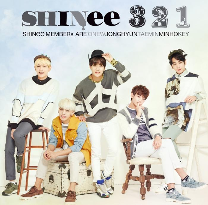Single 3 2 1 by SHINee