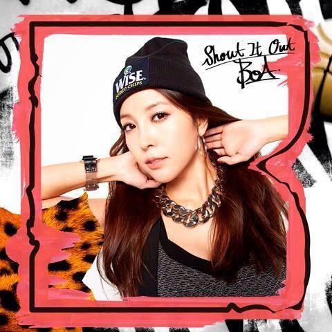 Single Shout It Out by BoA