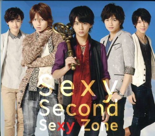 Album Sexy Second by Sexy Zone