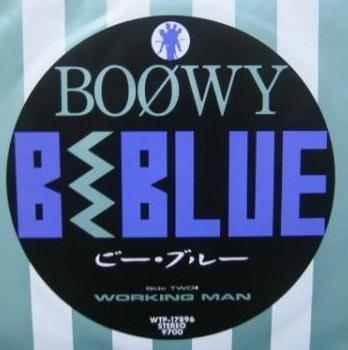 Single B · BLUE by BOOWY