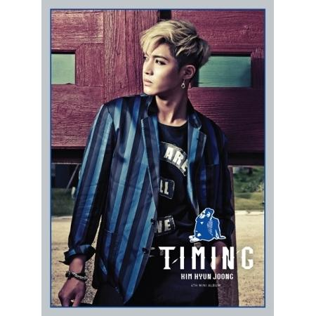 Mini album Timing by Kim Hyun Joong