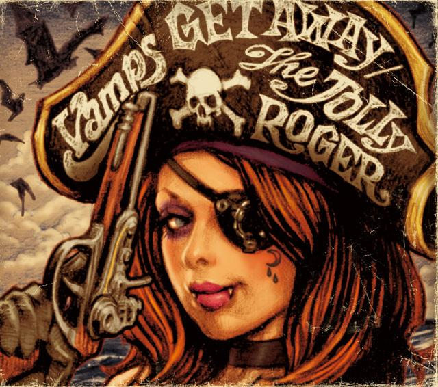 Single GET AWAY / THE JOLLY ROGER by VAMPS
