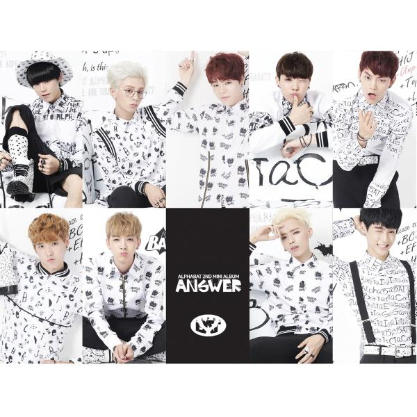 Mini album Answer by AlphaBAT