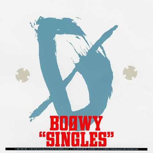 "Album ""SINGLES"" by BOOWY"