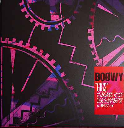 "Album ""GIGS""CASE OF BOØWY COMPLETE by BOOWY"