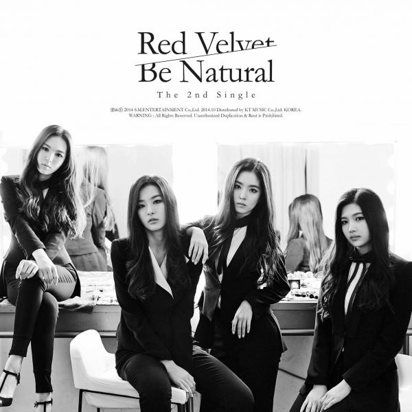 Single Be Natural by Red Velvet