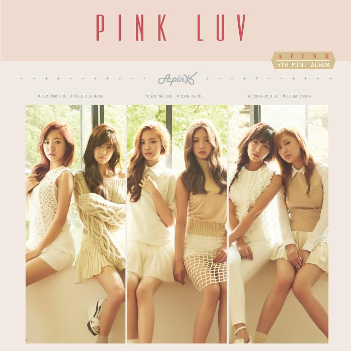 Mini album Pink LUV by APink