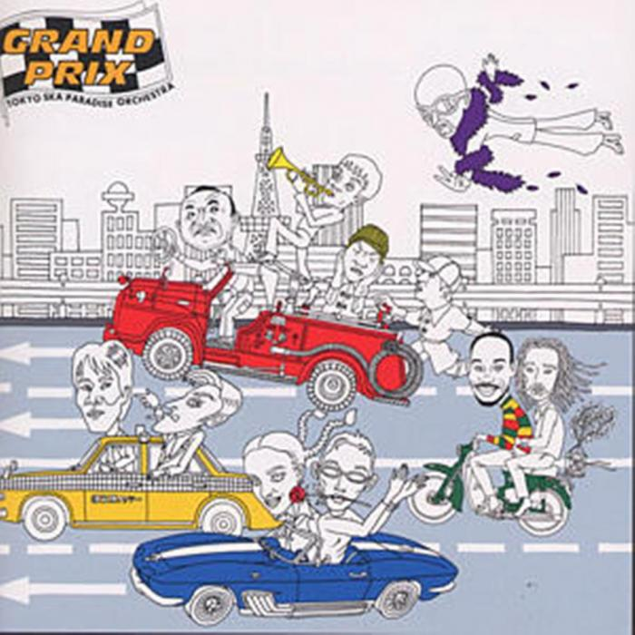 Album GRAND PRIX by Tokyo Ska Paradise Orchestra