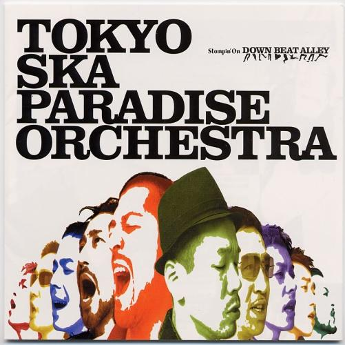 Album Stompin' On DOWN BEAT ALLEY by Tokyo Ska Paradise Orchestra