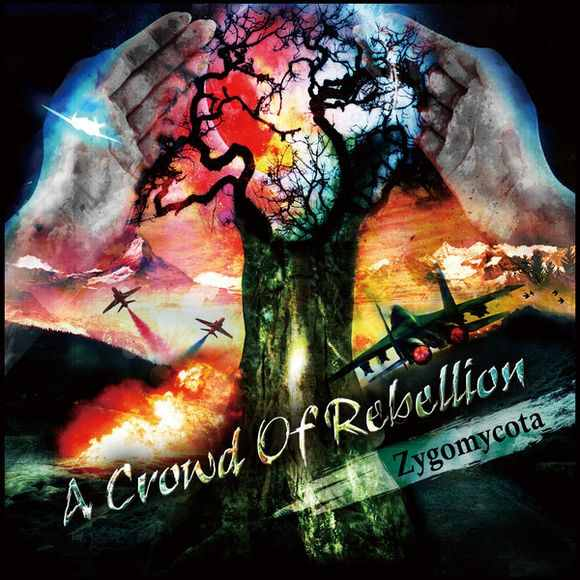 Satellitear by a crowd of rebellion