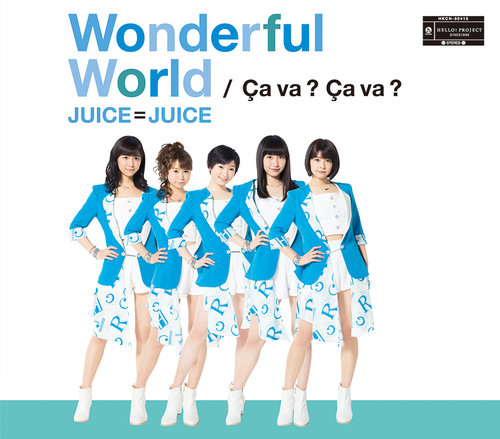 Single Wonderful World / Ca va ? Ca va ? by Juice=Juice