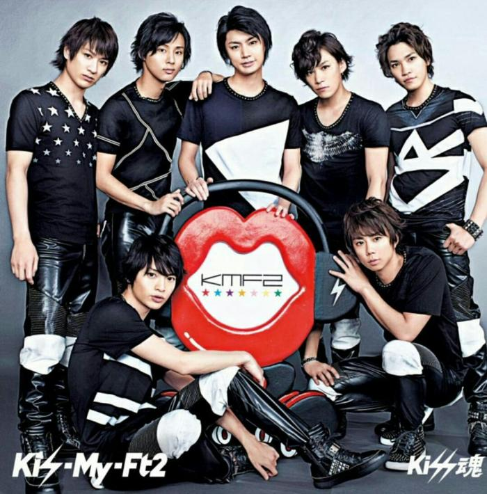 Single Kiss Damashii by Kis-My-Ft2