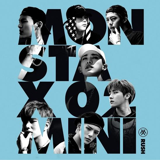 Mini album Rush by MONSTA X