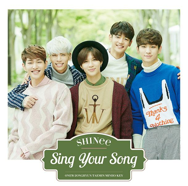 Single Sing Your Song by SHINee