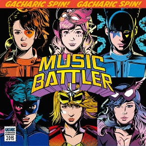 Album MUSIC BATTLER by Gacharic Spin