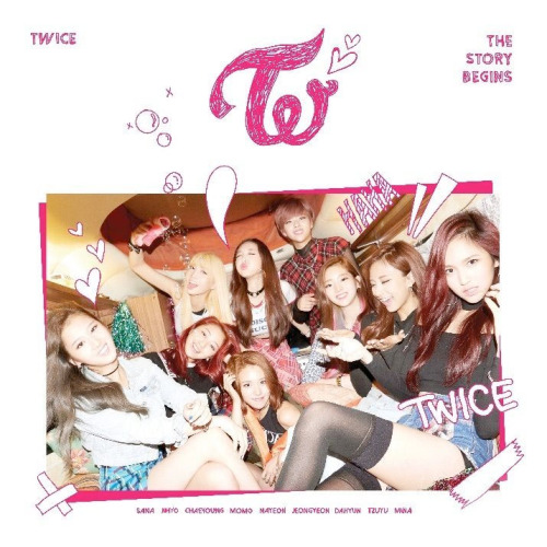 Mini album The Story Begins by TWICE