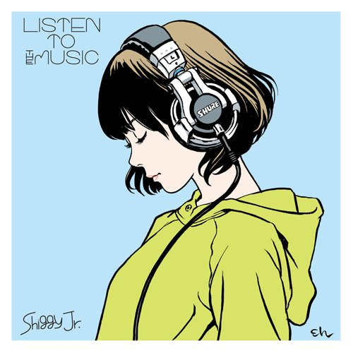 Album LISTEN TO THE MUSIC by Shiggy Jr.