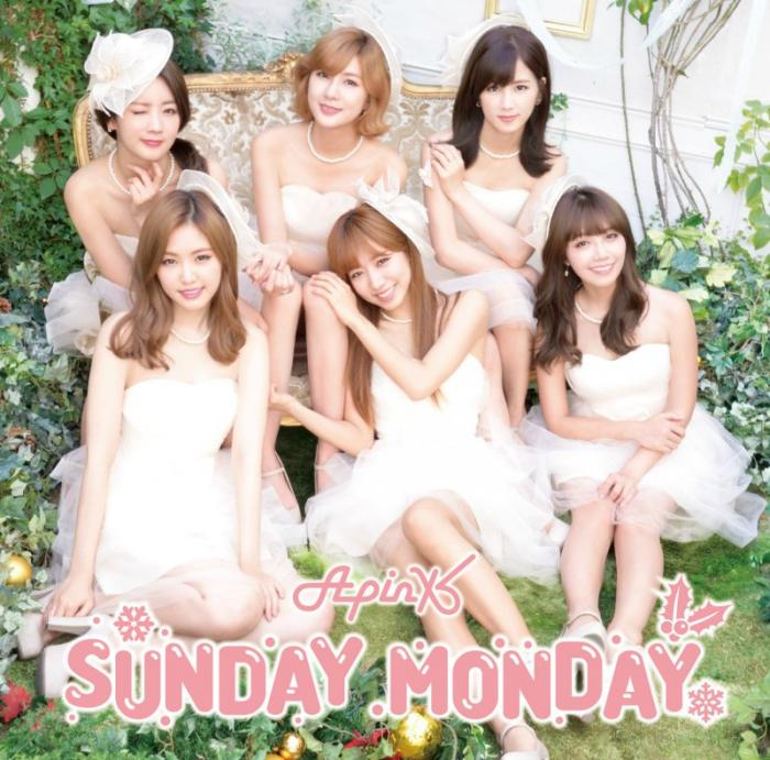 Single SUNDAY MONDAY (Japanese) by APink