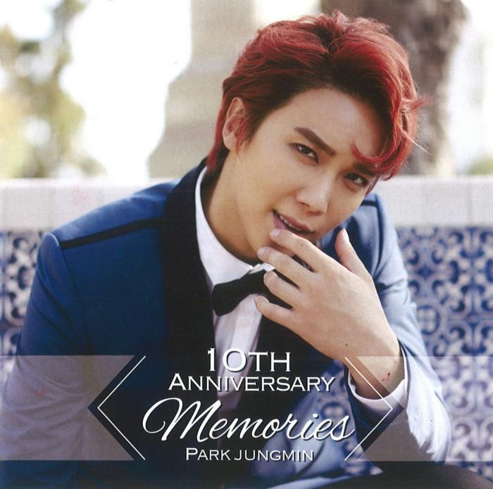 Mini album 10th Anniversary -Memories- by Park Jung Min