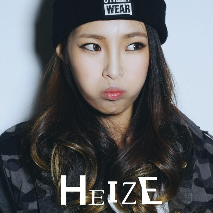 Mini album HEIZE by Heize