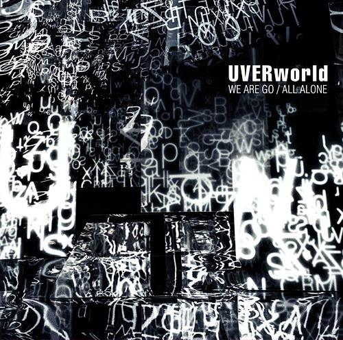 Single WE ARE GO / ALL ALONE by UVERworld