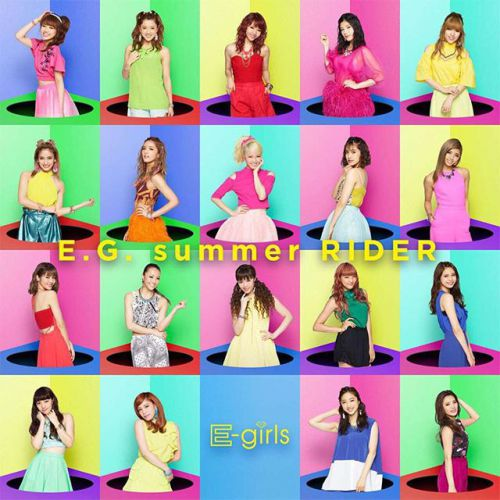 Single E.G. summer RIDER by E-Girls