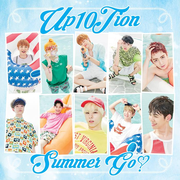 Mini album Summer go! by UP10TION