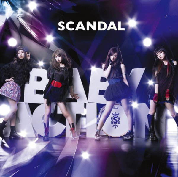 Album BABY ACTION by SCANDAL