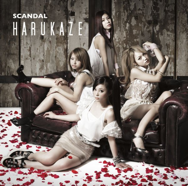 Single HARUKAZE by SCANDAL