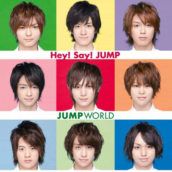 Album JUMP World by Hey! Say! JUMP