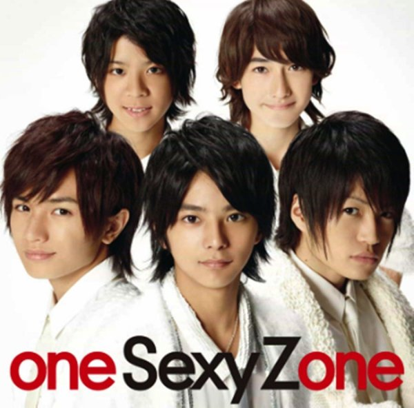 Album one Sexy Zone by Sexy Zone