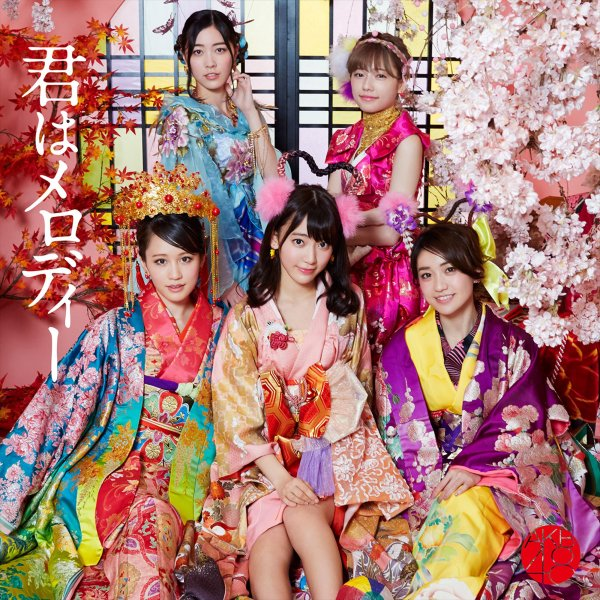 Single Kimi wa Melody by AKB48