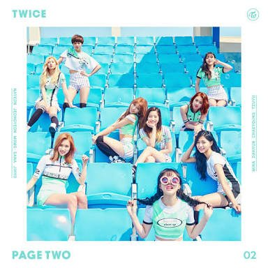 Mini album Page Two by TWICE