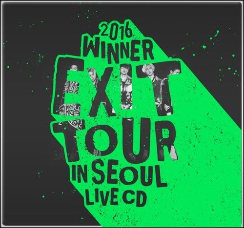 Album 2016 Winner Exit Tour In Seoul Live CD by WINNER