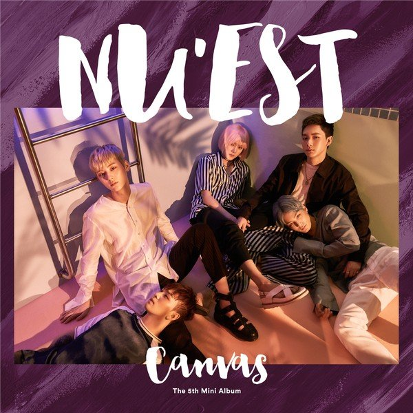 Mini album CANVAS by NU'EST