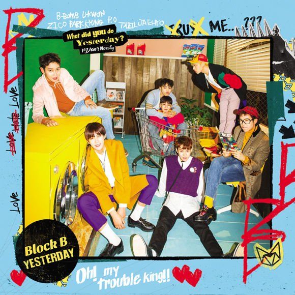 Single YESTERDAY (Japanese Version) by Block B