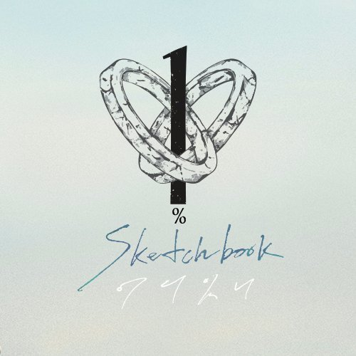 Mini album Sketchbook by 100%
