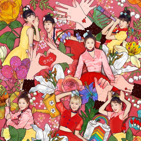 Single Coloring Book by Oh My Girl