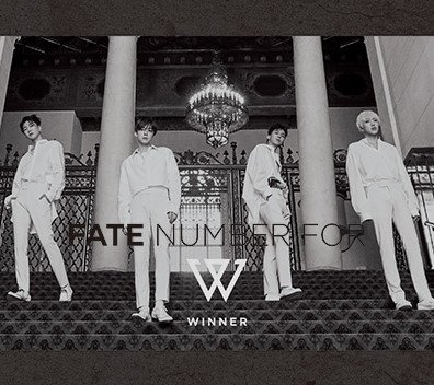 Single FATE NUMBER FOR ( JPN ver ) by WINNER