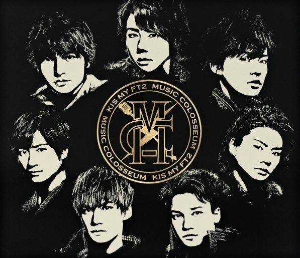 Album MUSIC COLOSSEUM by Kis-My-Ft2