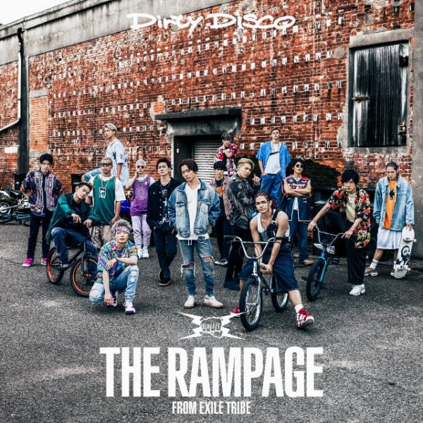 Single Dirty Disco by THE RAMPAGE